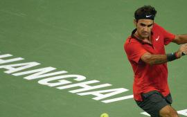 2014 Shanghai Federer d Simon