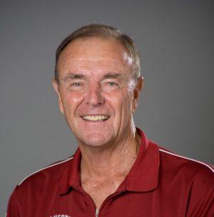 Stanford head tennis coach Dick Gould