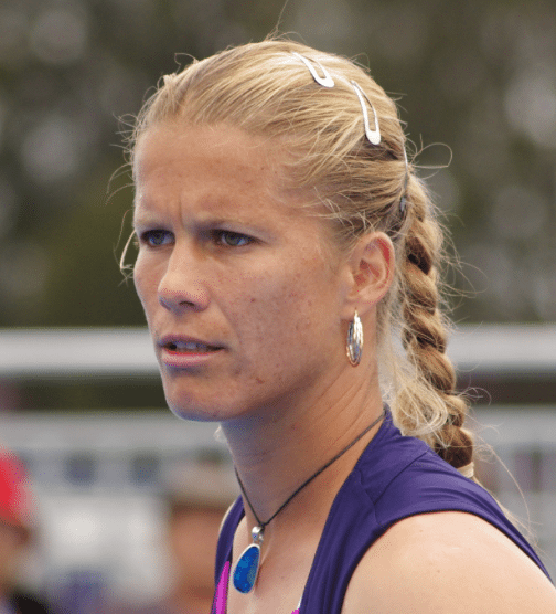 Pro womens tennis player Melinda Czink